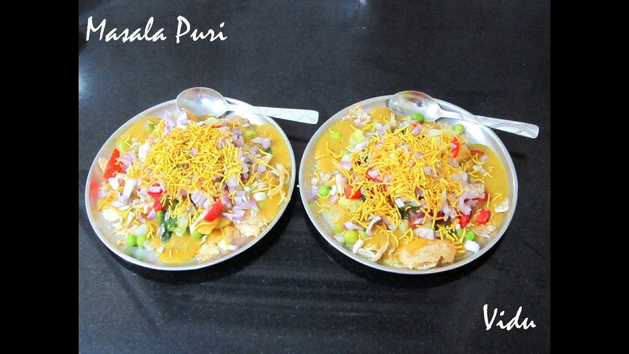 how to make masala puri