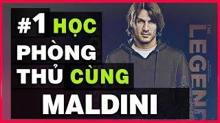 🛡️ HỌC PHÒNG THỦ CÙNG MALDINI #1 - PHÒNG THỦ 1 VS 1 TỪ  PHÍA TRƯỚC | ĐỐI MẶT TRỰC DIỆN [VIETSUB]