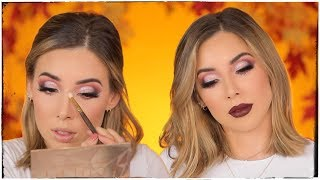 A THROWBACK MAKEUP LOOK! MAJOR FALL LUSTRELUX VIBES