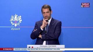 REPLAY. Conférence de presse de Christophe Castaner - Premier conseil des ministres