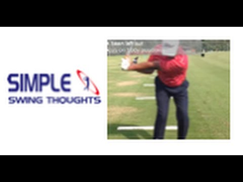 Golf Downswing : Gravity drops the club not you!!
