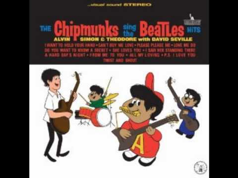 The chipmunks Love Me Do