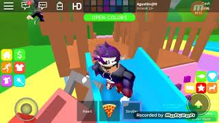 Playing Roblox:Family Paradise