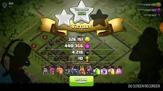 Playing clash of clans after a month 😱😱😱