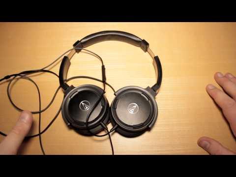 Audio-Technica ATH-WS55i Headphones REVIEW!