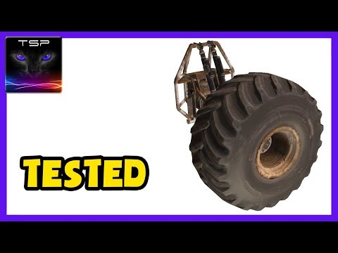 Crossout #334 ► Tested Ep.3 - How does BIGFOOT WHEELS Perk Work