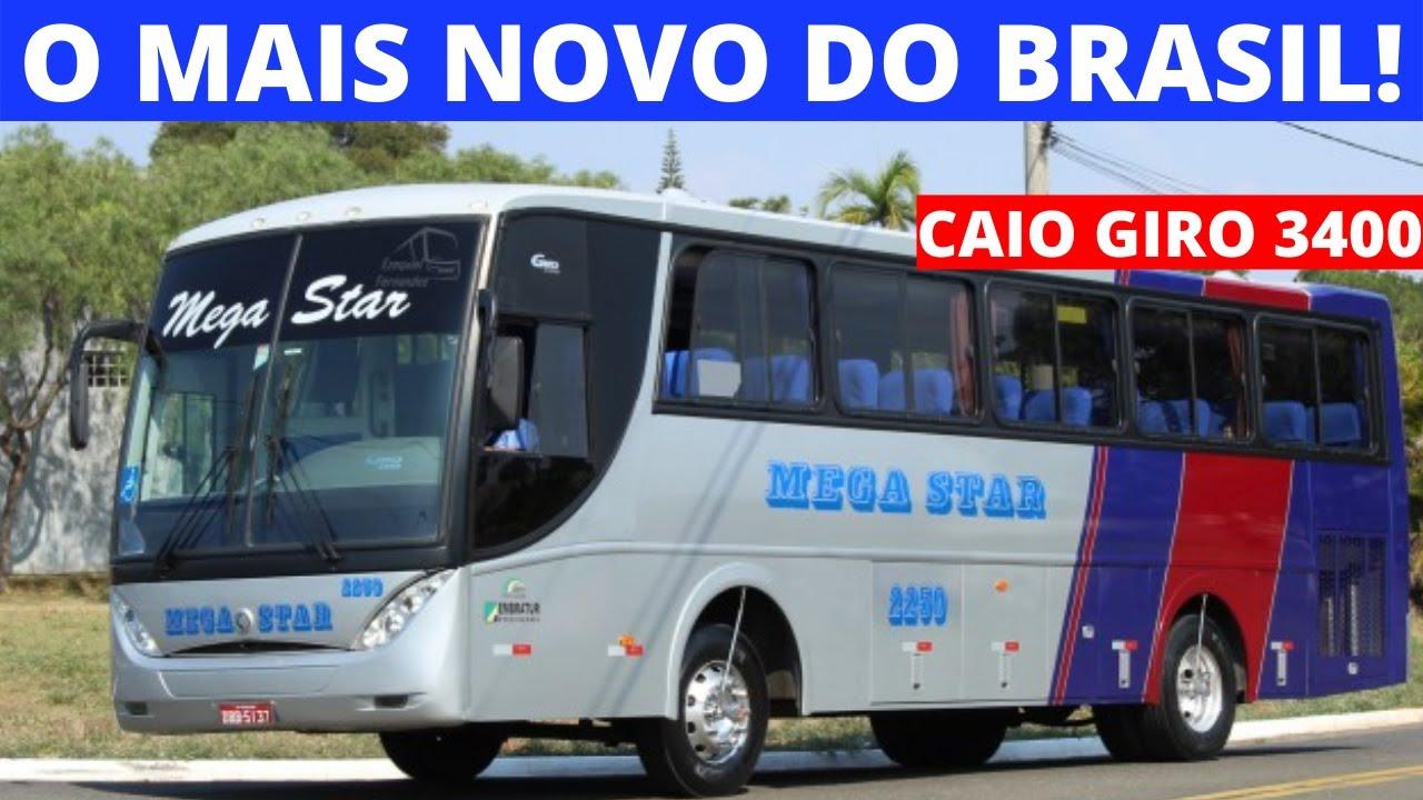 CAIO GIRO 3400 MERCEDES BENZ OH-1518,  EXCELENTE CUSTO-BENEFÍCIO!
