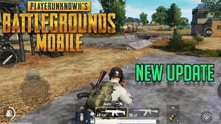 PUBG MOBILE NEW UPDATE GAMEPLAY