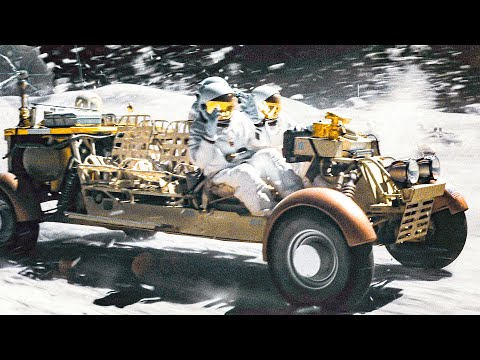 Moon Rover Chase Scene - AD ASTRA (2019) Movie Clip