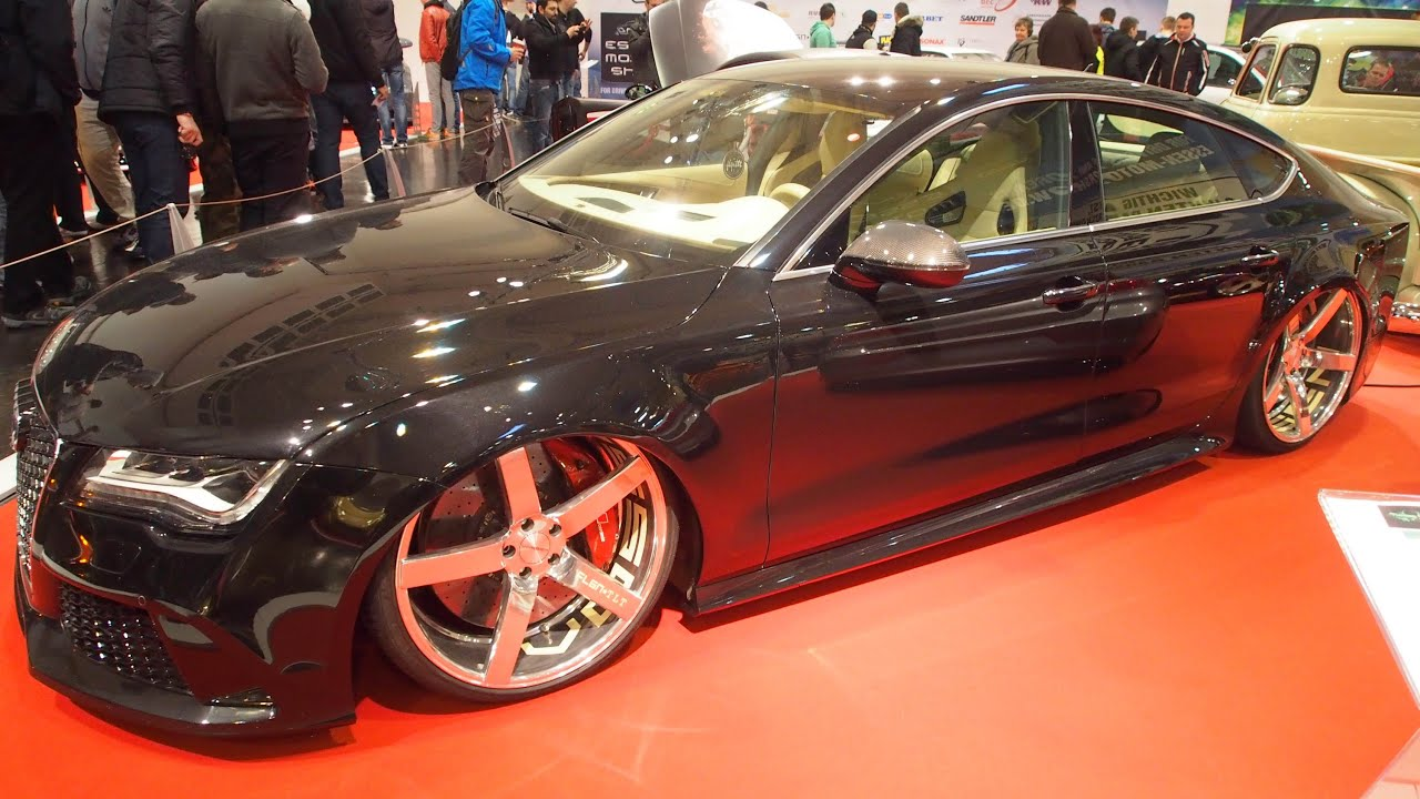 audi a7 sportback tuning r22 at essen motorshow exterior. Black Bedroom Furniture Sets. Home Design Ideas
