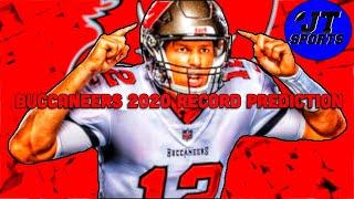 Tampa Bay Buccaneers 2020 Record Prediction | 2020-2021 NFL Record Predictions