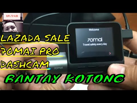 70mai PRO BUDGET Dash Cam Review| Lazada Philippines Sale !