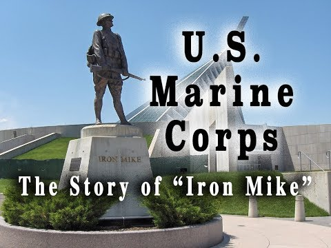 "U.S. Marine Corps - The Story of the ""Iron Mike"" statue"