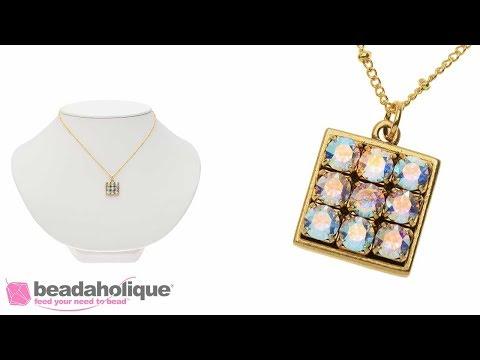 Quick & Easy DIY Jewelry: Dance Floor Necklace