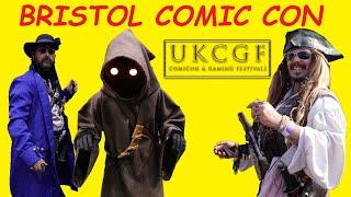 Bristol Comic Con. UKCGF. Moose Events UK March 2019