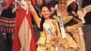 Miss Myanmar Nang Khin Zay Yar @ Miss International 2012, Beauty Pageant In Japan