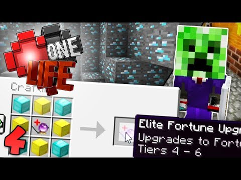 GETTING SUPER OP! Minecraft One Life SMP EP4