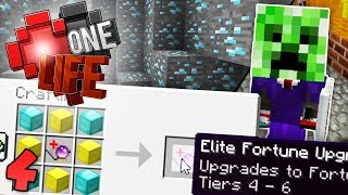 Video GETTING SUPER OP! Minecraft One Life SMP EP4 download MP3, 3GP, MP4, WEBM, AVI, FLV September 2018