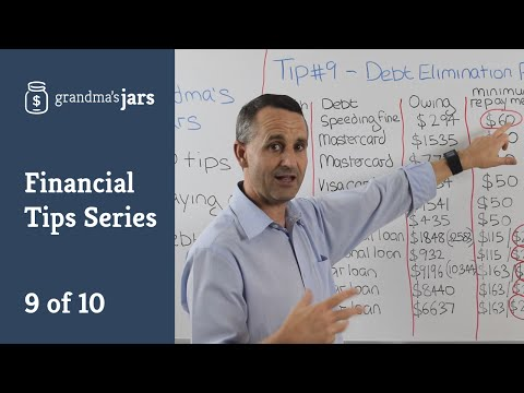 Top 10 Tips For Paying Off Debt: Part 9 (Debt Elimination Road Map)