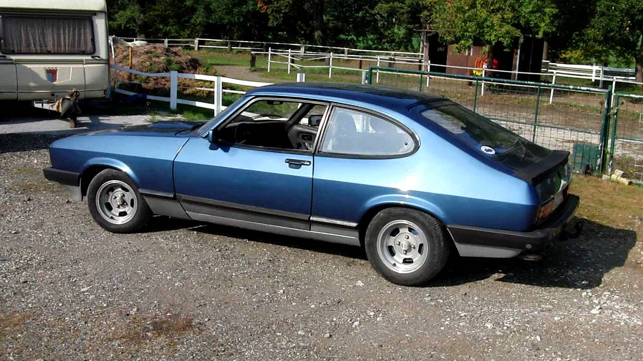 ford capri iii 2 8 injection 1981 ccw youtube. Black Bedroom Furniture Sets. Home Design Ideas
