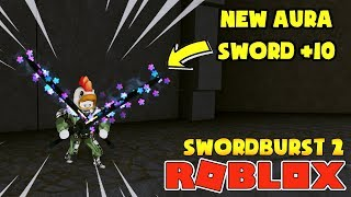 ROBLOX Swordburst 2 | LEVEL 67-ALLEGED the HOLY upgrades up + 10 and the new AURA chest