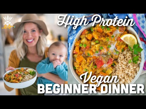 Sweet Potato Coconut Curry: Vegan Protein Beginner Dinner