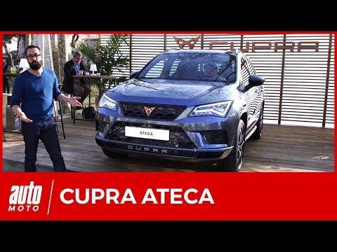 Cupra Ateca (2018) : le SUV Seat s