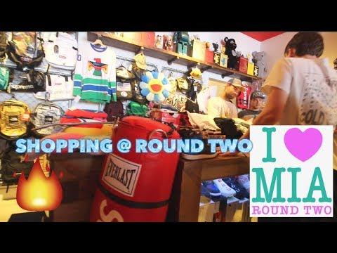 5fd678e28fa7 TRIP TO ROUND TWO MIAMI SOUTH BEACH STORE!!! - YouTube