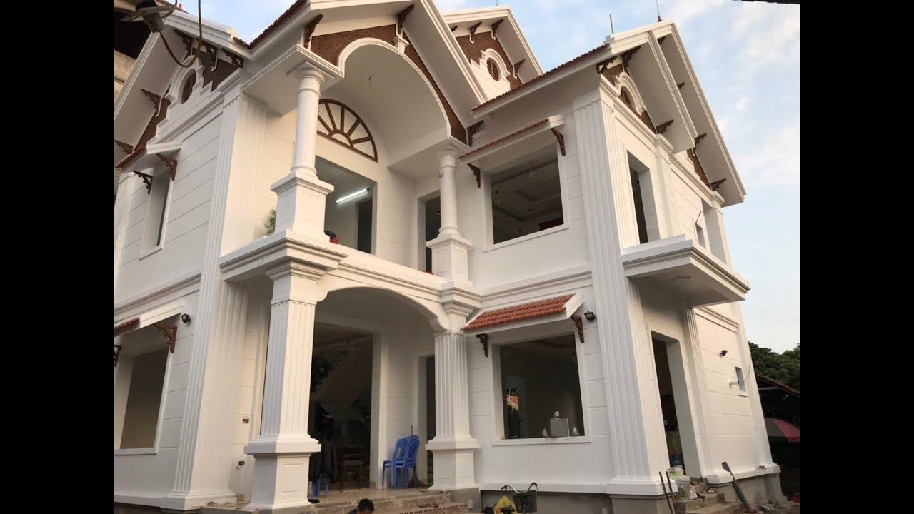 Mẫu Biệt Thự Đẹp Đẳng Cấp Do KISATO Thiết Kế Cho Gia Đình Anh Thao Tại Quốc Oai Hà Nội