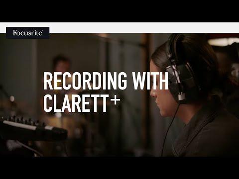 Focusrite // Recording with Clarett+