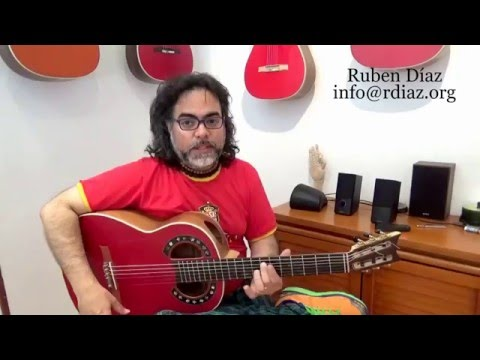 Landing Notes /Guitar Bite #18 Modern flamenco / Ruben Diaz lessons Spain