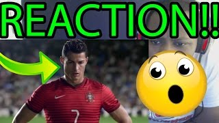BEST COMMERCIAL EVER!! Nike Football - Winner Stays ft Ronaldo, Neymar, Hulk e.t.c!! REACTION!!
