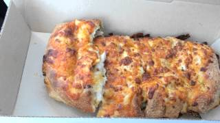 Domino's Stuffed Cheesy Bread With Bacon & Jalapeno Review
