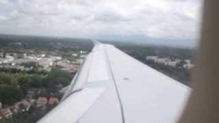 Landeanflug mit Durchstarten Hamburg