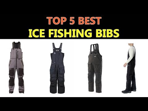 Best Ice Fishing Bibs 2020