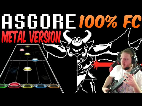 ASGORE Metal Version 100% FC (Guitar Hero Custom / Music by RichaadEB) - Undertale