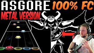 ASGORE Metal Version 100% FC (Guitar Hero Custom / Music by RichaadEB) - Undertale
