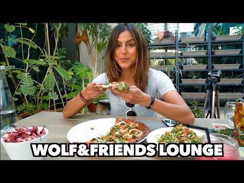 Organic, Gluten Free lunch spot in Dubai (Wolf and Friends Lounge)