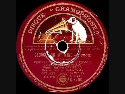 Django Reinhardt & Freddie Taylor - Georgia On MY Mind - 1936 October 15 - Gramophone, Paris