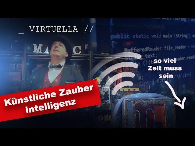 Virtuella die Künstliche Zauberintelligenz