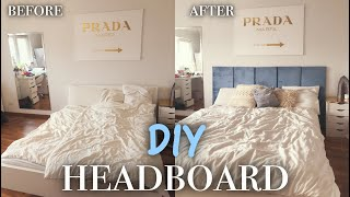 Headboard selbst machen - Bed Transformation ! PaulinaMary