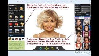 Simulador de Peinados Virtuales - Subir Foto, Cambiar Color de Pelo Online - Hombres, Mujeres