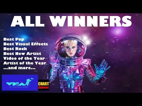 VMA's 2017 - ALL WINNERS | MTV Video Music Awards 2017 | August 27, 2017 | ChartExpress