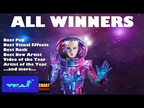 VMA's 2017 - ALL WINNERS | MTV Video Music Awards 2017 | August 27, 2017