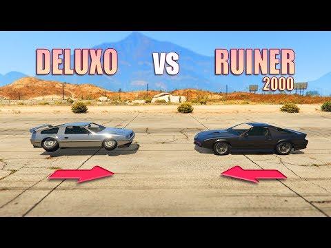 GTA V - Deluxo vs Ruiner 2000