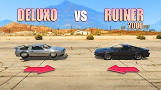 GTA V - Deluxo vs Ruiner 2000