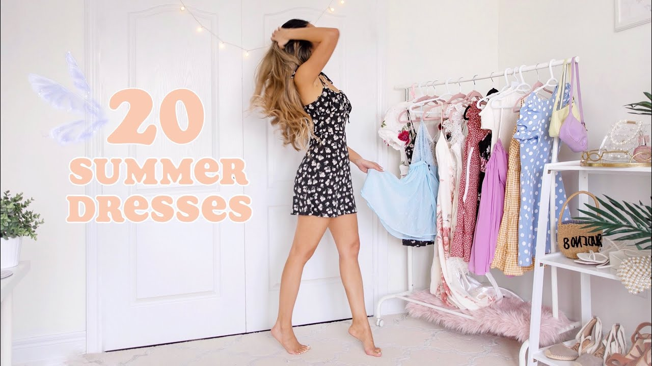 20 SUMMER DRESSES *super cute*  | fashion lookbook 2020