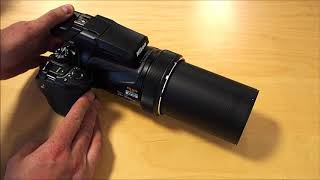 За характеристиками плати P1000 розпакування - оптичний зум 125x перший погляд!