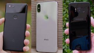 Ultimate Camera Test: iPhone X vs Pixel 2 vs Galaxy S8!