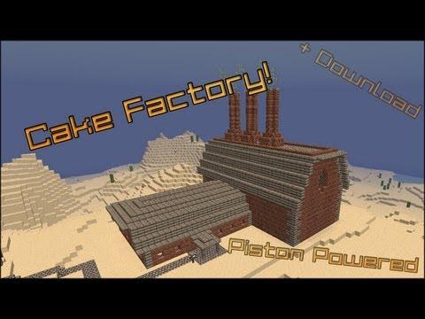 How To Make A Cake Baking Machine In Minecraft